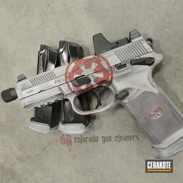 Cerakoted Star Wars Themed Fnx-45 Tactical Handgun