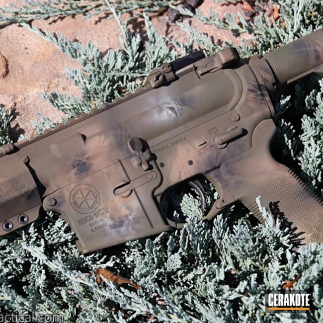 Cerakoted: SHOT,Graphite Black H-146,AR-15 SBR,Tactical Rifle,Sionics,BENELLI® SAND H-143,O.D. Green H-236,Gun Coatings,Custom Camo