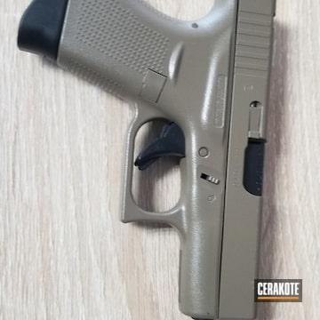 Cerakoted Glock 42 Cerakoted With E-100 And E-200