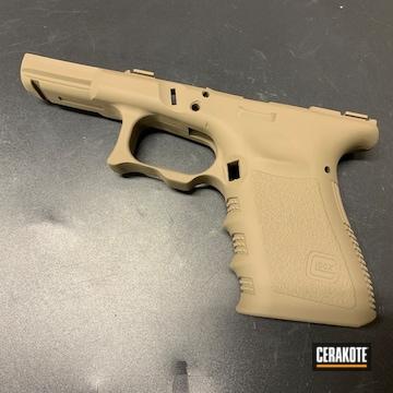 Cerakoted Glock Frame Cerakoted In H-267