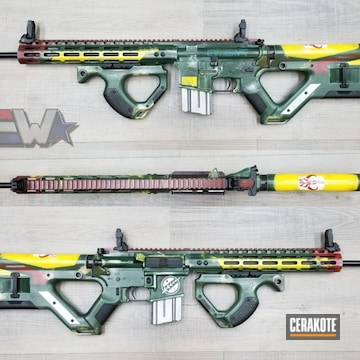 Cerakoted Boba Fett Themed Bullpup Rifle