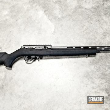 Cerakoted Custom Rifle Cerakoted In H-146 And H-170