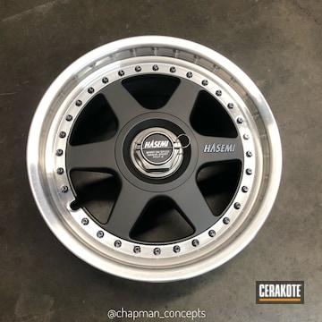 Cerakoted Custom Gunmetal Mix On Rare Japanese Hasemi Wheels