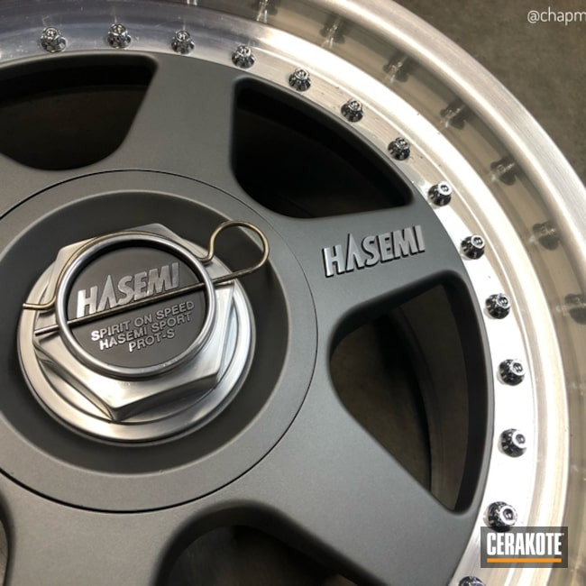 Custom Gunmetal Mix on Rare Japanese Hasemi Wheels
