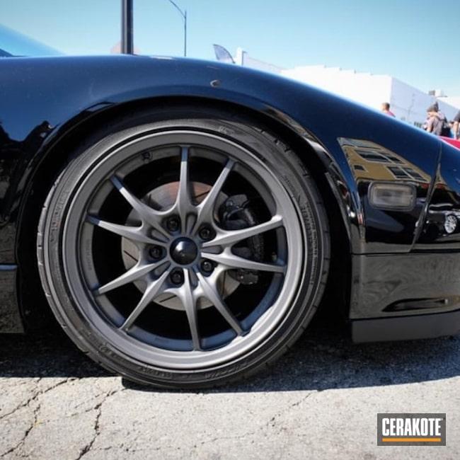 Cerakoted: Custom,JDM,Tungsten H-237,More Than Guns,Automotive,Honda,Wheels,Mugen,Remastered