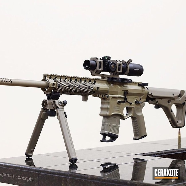 Two Toned 300 Blackout Rifle