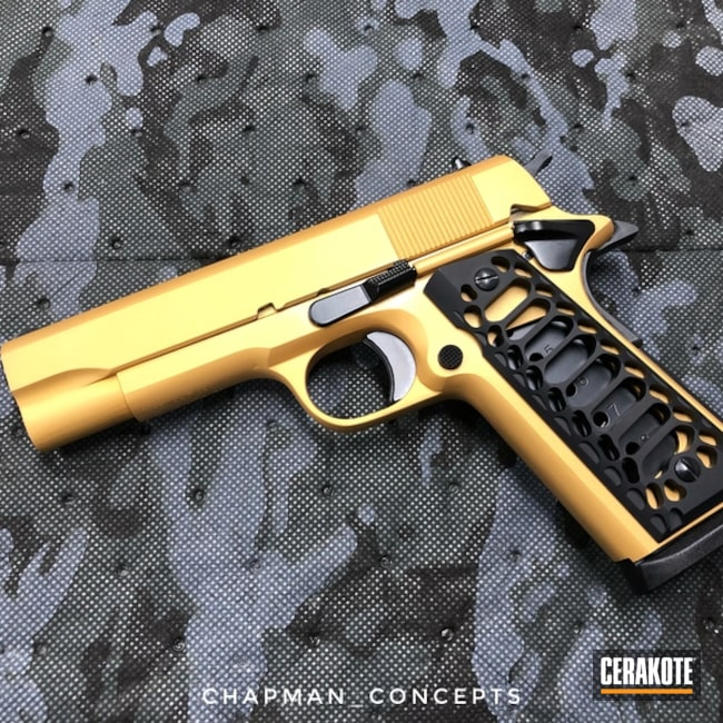 "Thumbnail image for project ""Two Toned Rock Island Armory 1911 Handgun"""