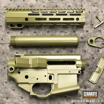 Cerakoted Noveske Gun Parts Cerakoted In H-189