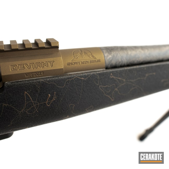 Cerakoted: SHOT,Bolt Action Rifle,Burnt Bronze H-148,Gun Coatings