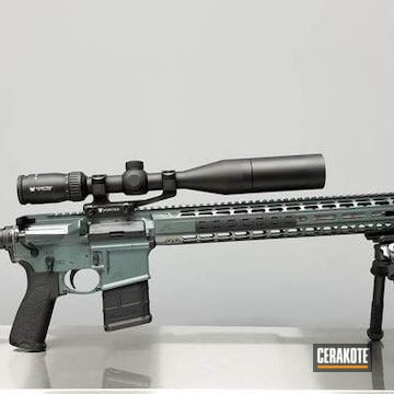Cerakoted Aero Precision Rifle Finished With Cerakote H-402