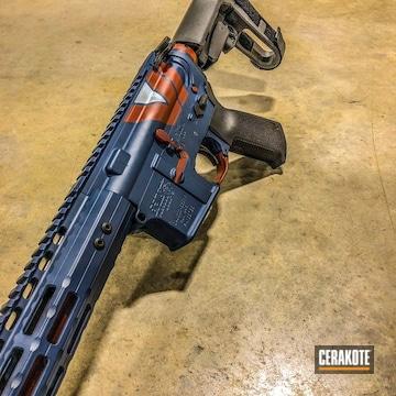 Cerakoted Spms Rifle Cerakoted With H-127 Kel-tec Navy Blue
