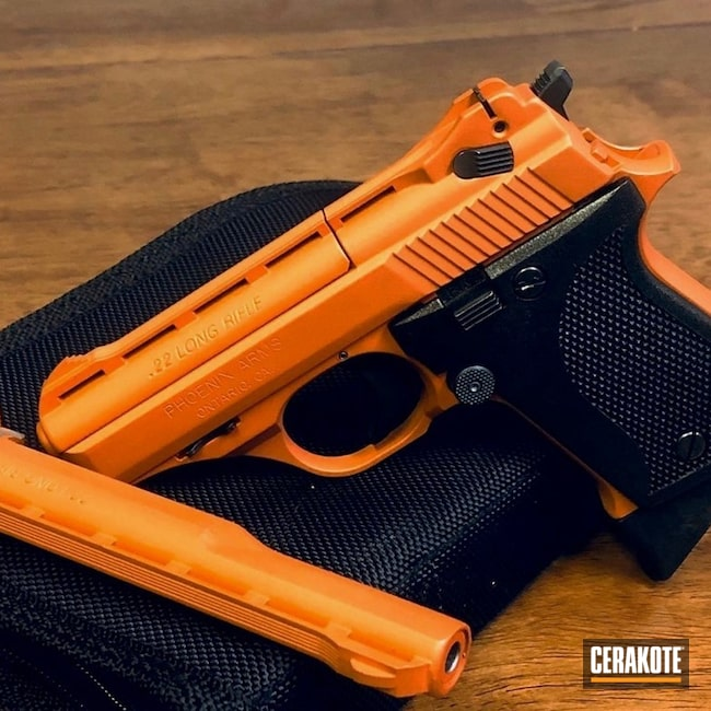 Cerakoted Phoenix Arms 22lr Handgun Cerakoted With H-309