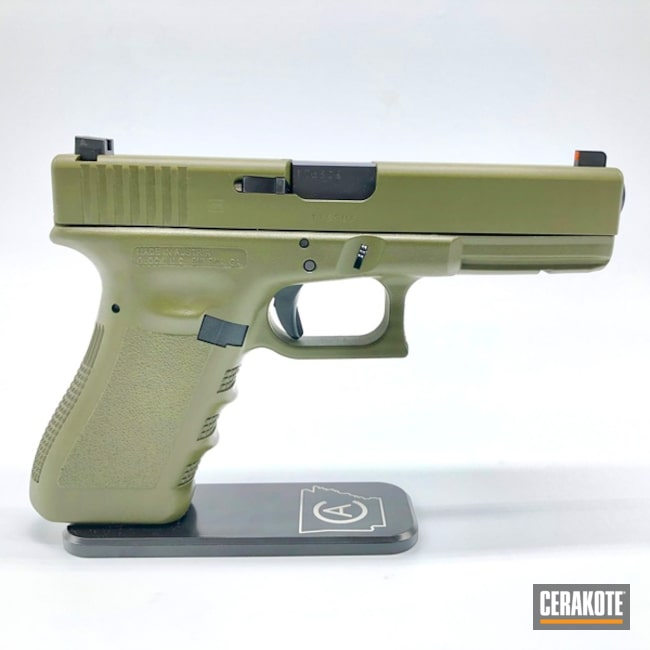 "Thumbnail image for project ""Glock 17 Handgun with H-229 Sniper Green"""