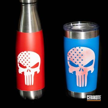 Cerakoted Cerakoted Punisher Skull Design
