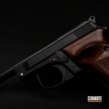 Cerakoted Beretta-mod 950b Pistol Cerakoted In E-100 And H-301