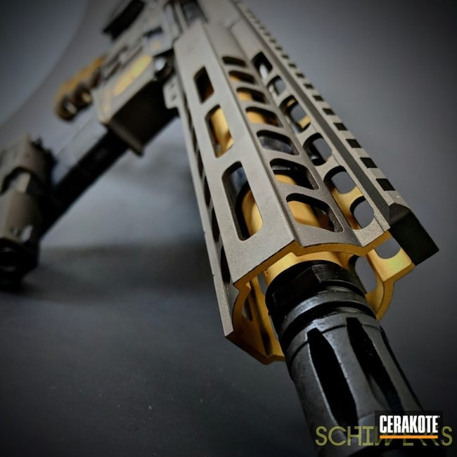 Matching Spartan Themed Sig and AR-15