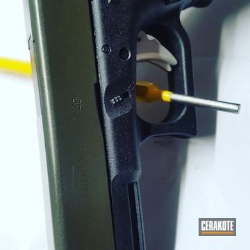 Cerakoted Glock Handgun Cerakoted With H-296 And H-300