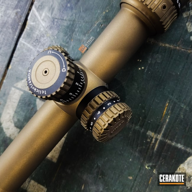 "Thumbnail image for project ""Nikon Scope Cerakote in H-148 Burnt Bronze"""
