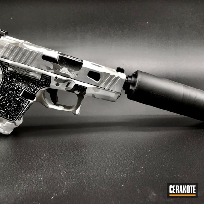 "Thumbnail image for project ""Arky Customs G26 in Arctic Camo"""