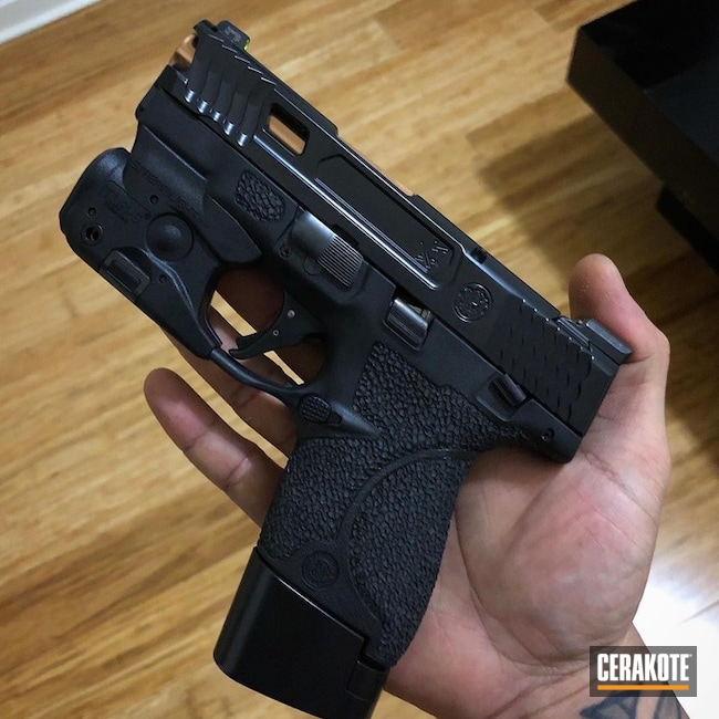 Elite Series BLACKOUT used on this custom M&P Shield 9MM