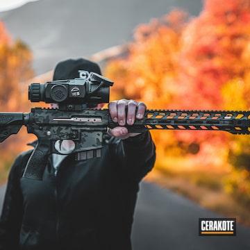 Cerakoted Cerakote Multicam Black Finish