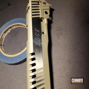 Cerakoted Sti Edge Cerakoted With H-158 Shimmer Aluminum