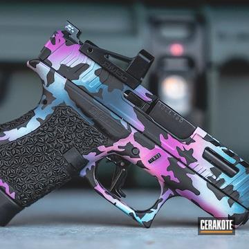 Cerakoted Colorful Glock Cerakote Multicam Finish