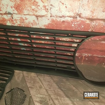 Cerakoted Bmw Grille Cerakoted With C-102 Graphite Black