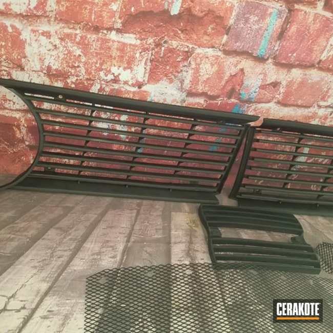 Cerakoted: Graphite Black C-102,BMW,More Than Guns,Automotive,Automotive Grille