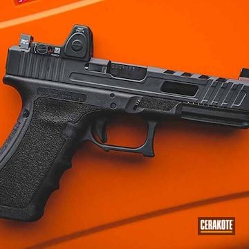Cerakoted Glock Handgun Cerakoted With H-234 Sniper Grey