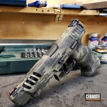 Cerakoted Hkvp9 Handgun Cerakoted With H-204, H-146 And H-240