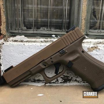 Cerakoted Glock 17 Cerakoted With H-30118