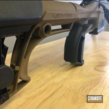Cerakoted Ruger Bolt Action Rifle H-250 A.i. Dark Earth