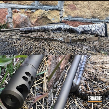 Cerakoted H-148 Burnt Bronze Cerakote Ruger Rifle Finish