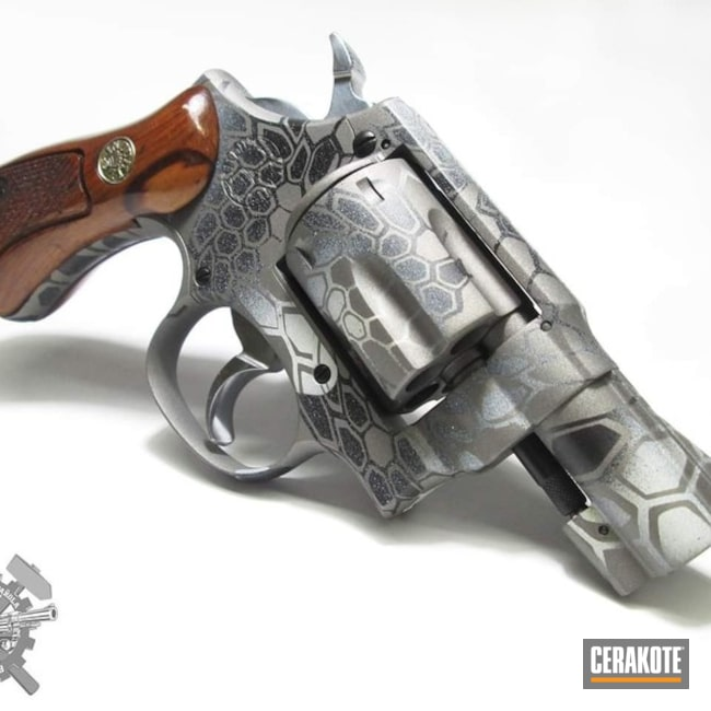 Cerakote Kryptek Revolver Finish