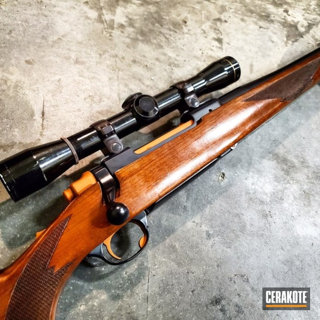 Ruger M77 in 7mm Mag Cerakoted with H-238 and H-310