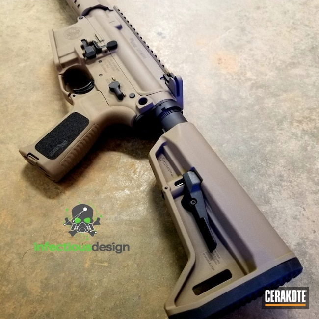 "Thumbnail image for project ""Sig Sauer Rifle Cerakoted with Graphite Black and Flat Dark Earth"""