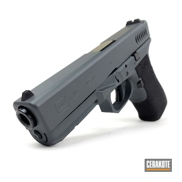 Cerakoted Cerakoted Glock 22 In H-234 And H-190