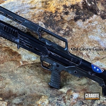 Cerakoted Custom Cerakoted Kel-tec Ks7 Shotgun