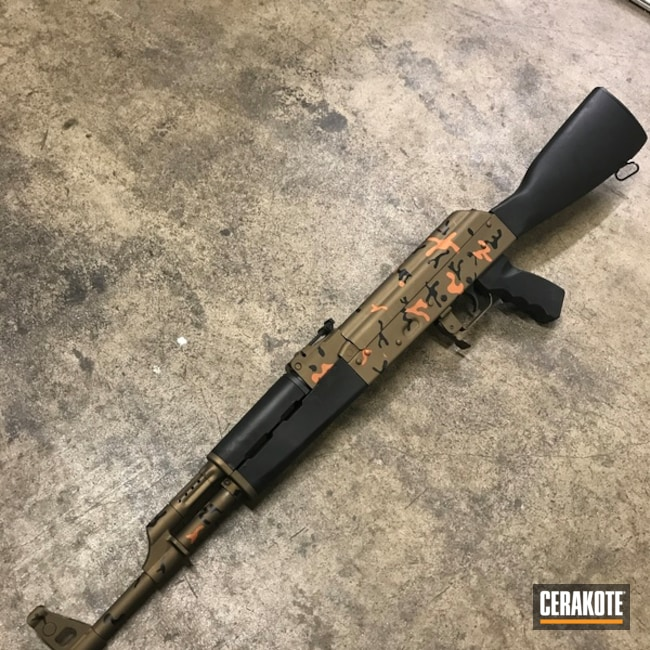 "Thumbnail image for project ""AK-47 Rifle with a Custom Cerakote MultiCam Finish"""