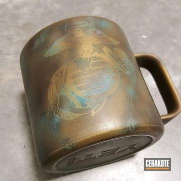 Cerakoted Usmc Themed Yeti Cup