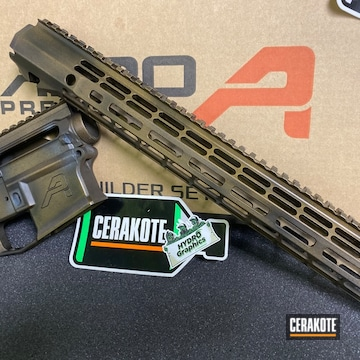 Cerakoted Aero Precision Ar-15 Cerakoted With H-148 And H-190