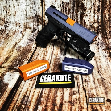 Cerakoted Walther Handgun Cerakoted With H-309 And H-314