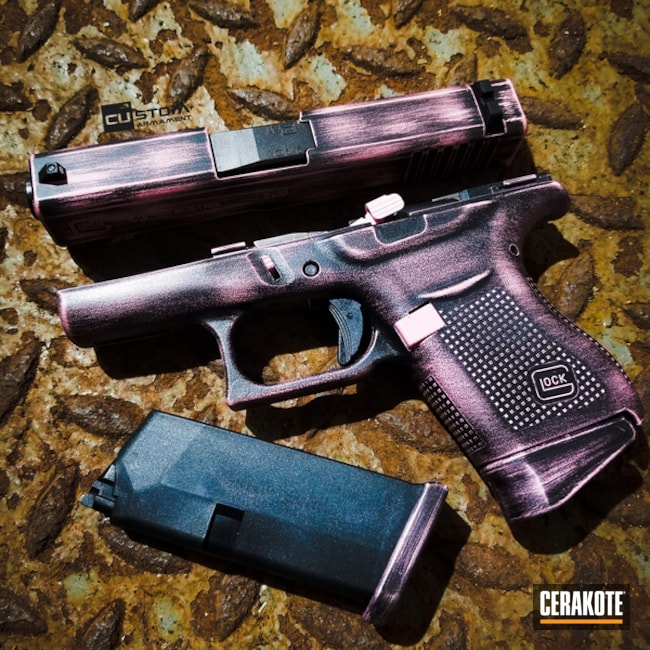 "Thumbnail image for project ""BAttleworn Glock 43 Handgun using H-190 and H-244"""