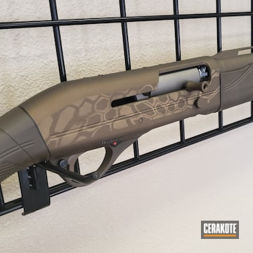 Cerakoted Kryptek Benelli Shotgun
