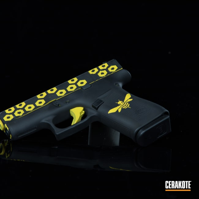 Cerakoted Glock 43x Cerakoted With H-146 And H-166