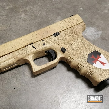 Cerakoted Glock 21 With A Custom Cerakote Finish
