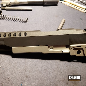 Cerakoted Sti Gun Parts Cerakoted With H-112 And H-158