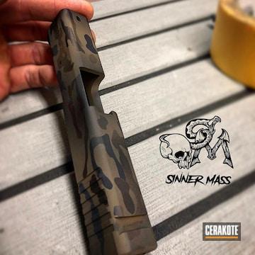 Cerakoted Glock 43 Multicam