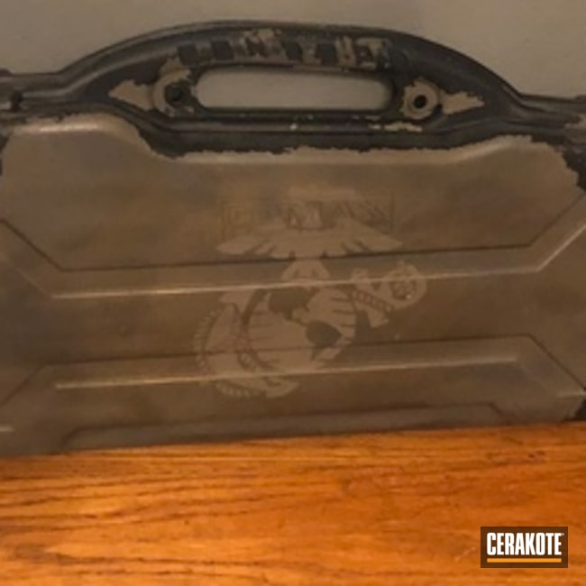 Custom USMC Battleworn Rifle Case